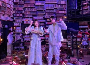 YOASOBI 紅白2020 場所 どこ 図書館 角川武蔵野ミュージアム