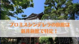 【プロミスシンデレラ】旅館のロケ地は伊豆修善寺温泉「新井旅館」で特定!目撃情報まとめ